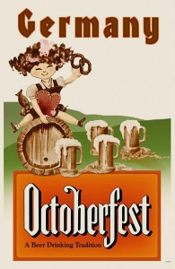 Vintage Oktoberfest Poster