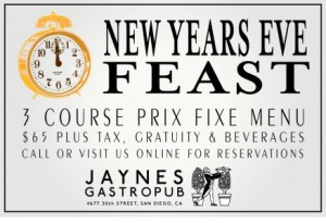 New-Years-Eve-Menu-North-Park-San-Diego-2012